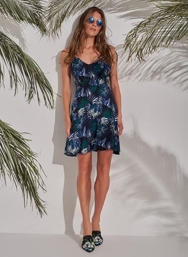 Morhipo Beach Çapraz Askılı Elbise Renkli
